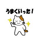 応援する猫 2016(個別スタンプ:34)