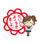 JK(女子高生)スタンプ♥【セーラー服編】(個別スタンプ:19)