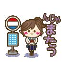 JK(女子高生)スタンプ♥【セーラー服編】(個別スタンプ:40)