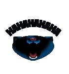 黒ねこクロス(個別スタンプ:26)