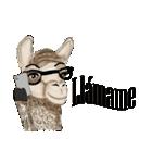 Hipzta Lllama(個別スタンプ:03)