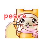 暖か可愛いウサギ(個別スタンプ:17)