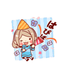 お祝いガール*★季節行事・イベント編★*(個別スタンプ:01)