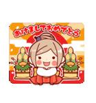 お祝いガール*★季節行事・イベント編★*(個別スタンプ:23)