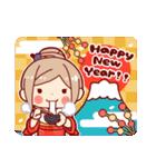 お祝いガール*★季節行事・イベント編★*(個別スタンプ:24)