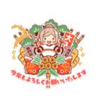 お祝いガール*★季節行事・イベント編★*(個別スタンプ:28)