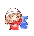 お祝いガール*★季節行事・イベント編★*(個別スタンプ:34)