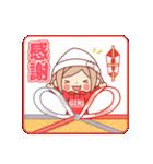 お祝いガール*★季節行事・イベント編★*(個別スタンプ:39)
