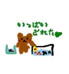 バレエの得意な落書き熊(個別スタンプ:10)