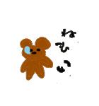 バレエの得意な落書き熊(個別スタンプ:34)