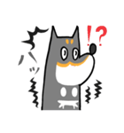 黒柴Gちゃん。(個別スタンプ:29)