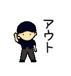 がんばれ野球部3【ときどき審判編】(個別スタンプ:35)