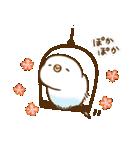 インコ気まぐれ 春一番(個別スタンプ:10)
