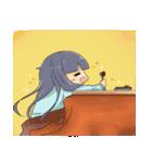 ポジ子とネガ子(個別スタンプ:13)