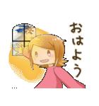 ポジ子とネガ子(個別スタンプ:16)