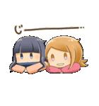 ポジ子とネガ子(個別スタンプ:39)