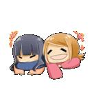 ポジ子とネガ子(個別スタンプ:40)