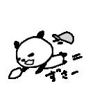 <野球>パンダ野球 Baseball panda(個別スタンプ:04)