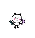にっこりパンダ1【日常1】(個別スタンプ:13)