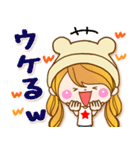 トモダチトーク★カノジョ【デカ文字パック(個別スタンプ:09)