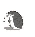 うつろなハリネズミ(個別スタンプ:29)