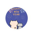 yogurt's pig 2 (happy new year)(個別スタンプ:11)