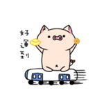 yogurt's pig 2 (happy new year)(個別スタンプ:16)