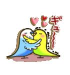 インコちゃん ラブリーな日常パック(個別スタンプ:3)