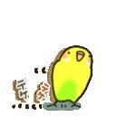 インコちゃん ラブリーな日常パック(個別スタンプ:9)