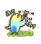 インコちゃん ラブリーな日常パック(個別スタンプ:14)