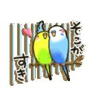 インコちゃん ラブリーな日常パック(個別スタンプ:30)