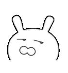 ドアップで迫る月から来たウサギ(個別スタンプ:28)