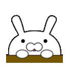ドアップで迫る月から来たウサギ(個別スタンプ:36)