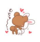 うさくまのラブスタンプ☆くま太の気持ち(個別スタンプ:4)