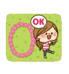 かわいい主婦の1日【春編】(個別スタンプ:02)