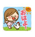 かわいい主婦の1日【春編】(個別スタンプ:11)