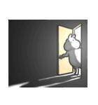 丸くて白いウサギ(個別スタンプ:28)