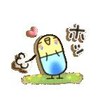 癒しのお薬・カプセルインコちゃん(個別スタンプ:14)