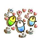 癒しのお薬・カプセルインコちゃん(個別スタンプ:36)