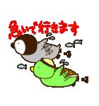 ぺんぎんとかっぱ(個別スタンプ:08)