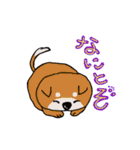 愛すべきぶさかわ犬!ワンコがいっぱい(個別スタンプ:23)