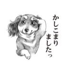 表情豊かな犬たち(個別スタンプ:06)