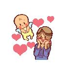 ハッピー子育てライフ~ママと赤ちゃん~(個別スタンプ:24)