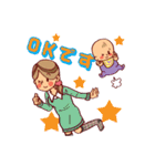 ハッピー子育てライフ~ママと赤ちゃん~(個別スタンプ:34)