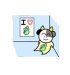 琵琶湖は滋賀県の1/6ということを伝える+α(個別スタンプ:19)