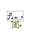 琵琶湖は滋賀県の1/6ということを伝える+α(個別スタンプ:40)