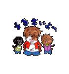 あじのある犬たち(個別スタンプ:02)