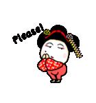 京都 de 舞妓!テーラー・あべ・パーソン。(個別スタンプ:29)