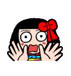 かわいい日本人形ちゃん(個別スタンプ:01)