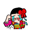 かわいい日本人形ちゃん(個別スタンプ:16)